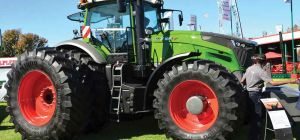 Fendt-monstertrekkers maak buiging by Nampo 2017